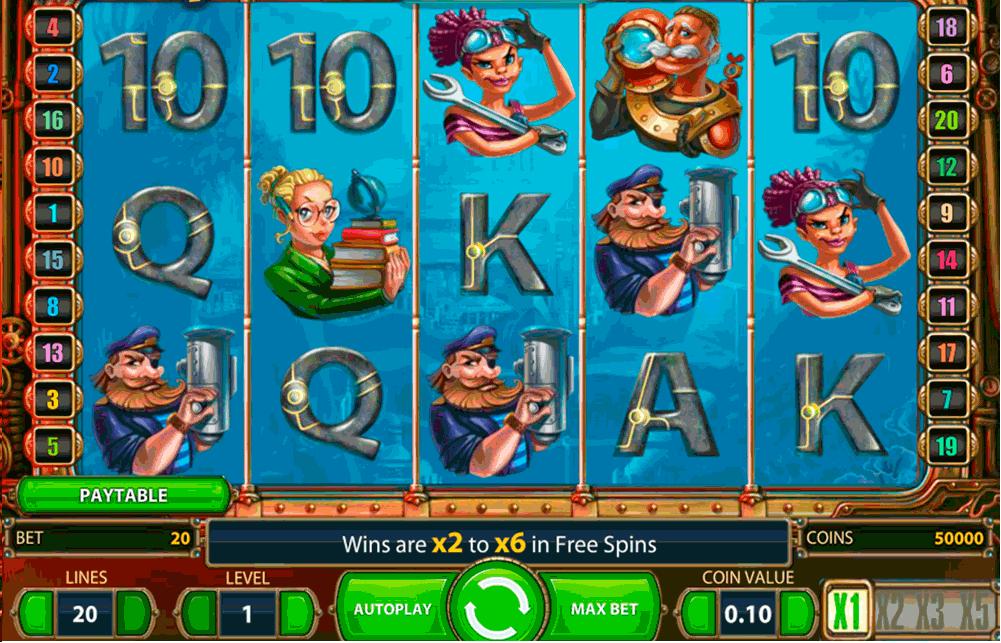 Play Subtopia slots online