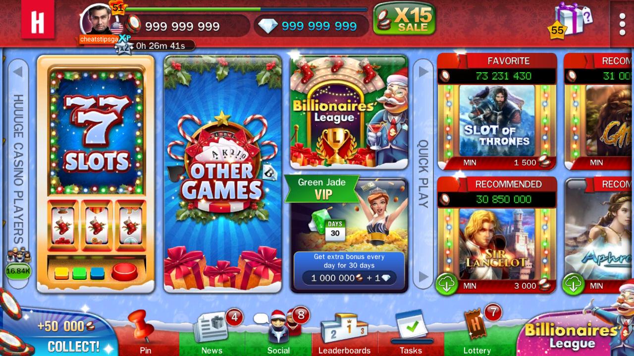 Huuuge Casino Free Money